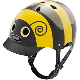 Nutcase Little Nutty Street Kask rowerowy Dzieci żółty/czarny